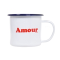 Amour Emaille Tasse