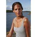 Paula Swimsuit Poppy Ash Stripe