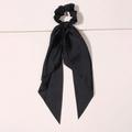 Seidenband Scrunchie Black